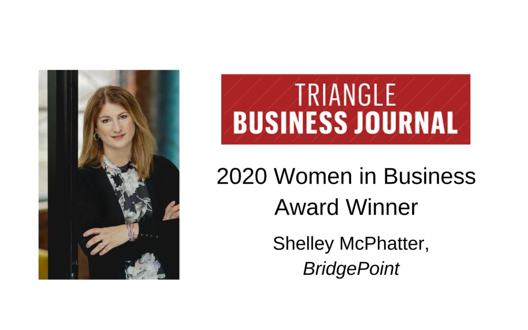 Shelley McPhatter Receives Women in Business Award