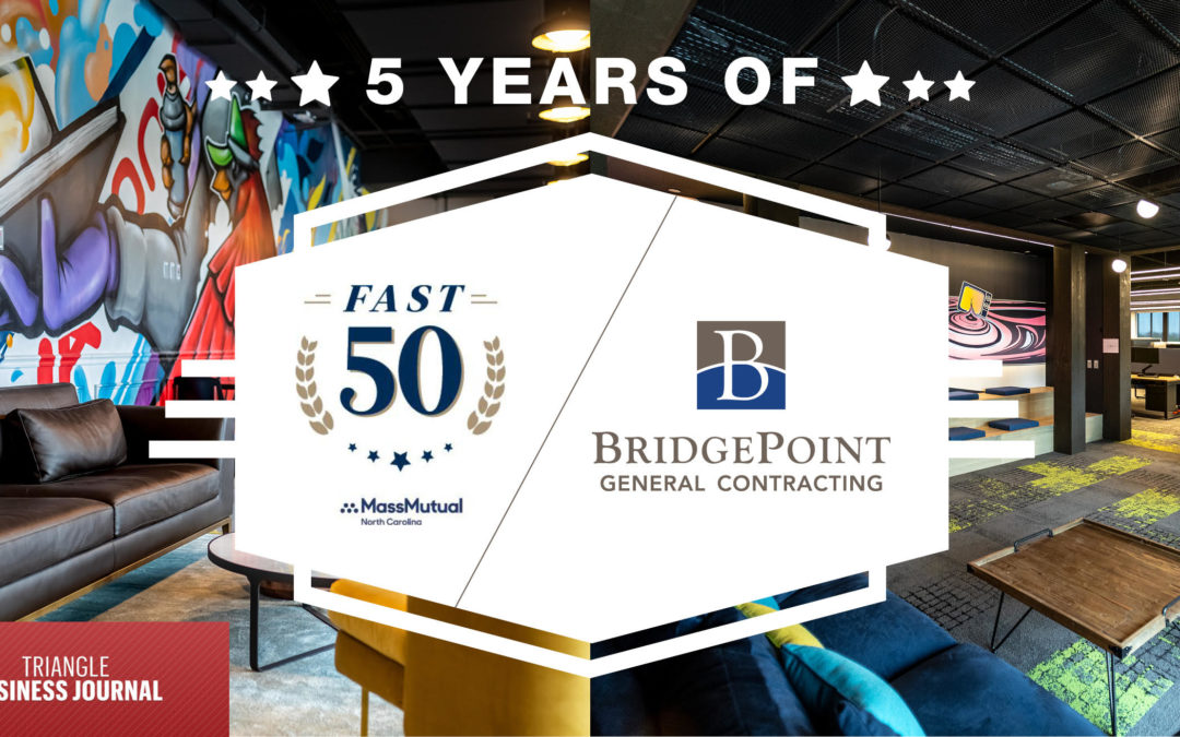 BridgePoint Makes TBJ's Fast 50 for Five Years in a Row